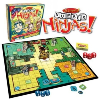 Haywire Group Number Ninjas Board Game