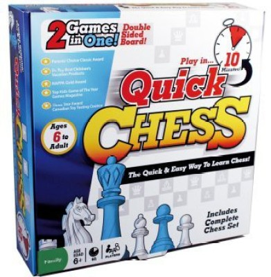 International Playthings Quick Chess Board Game