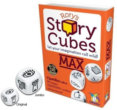 Gamewright Rory,S Story Cubes Max Board Game