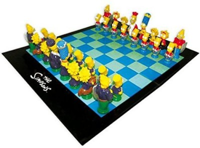 Simpsons The 3D Chess Board Game