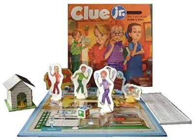 Clue Jr. The Case Of The Hidden(1999 Vintage) Board Game