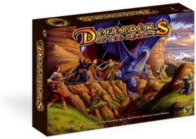 Eagle Games Defenders Of The Realm Board Game