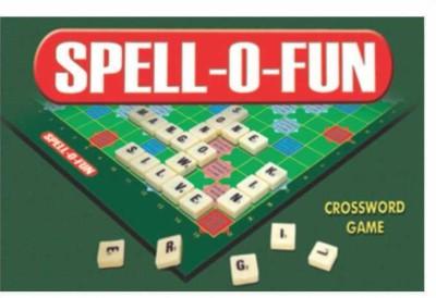 C J Enterprise Spell-O-Fun Small Board Game