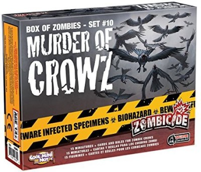 CoolMiniOrNot Zombicide Box Of Zombies 12 Murder Of Crowz Board Game