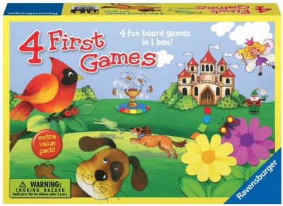Ravensburger 4 First Games Board Game