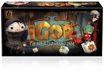 R&L R&R890 Igor The Monster Making Board Game