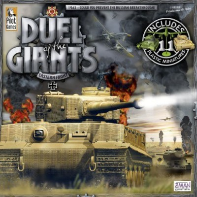 Z-Man Games Duel Of The Giants Board Game