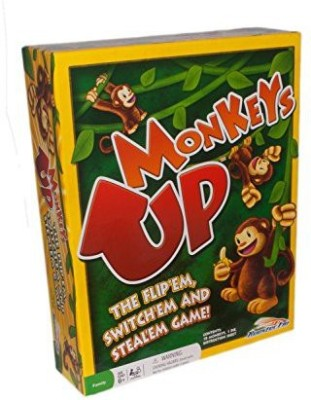 RoosterFin Monkeys Up Board Game
