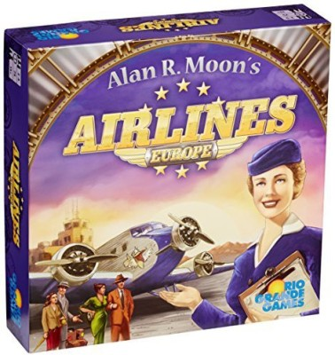 Rio Grande Games Airlines Europe Board Game