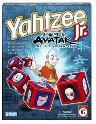 Hasbro Yahtzee Junior Avatar Board Game