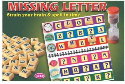 Ratnas Missing Letter Board Game