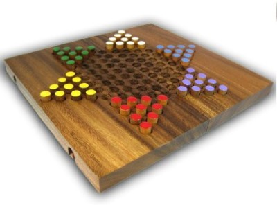 Monkey Pod Games Large Chinese Checkers (Colors May Vary) Board Game