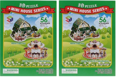 Goldcave 3D Puzzle House Board Game