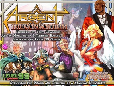 Level 99 Games Argent The Consortium Board Game