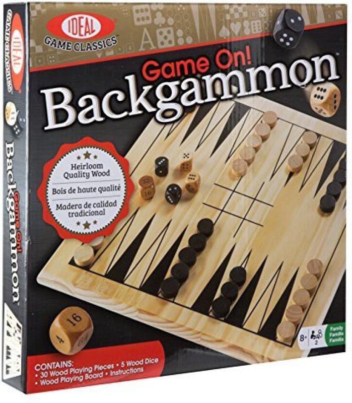 Ideal On Backgammon Board Game