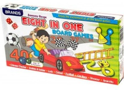 Bharat Eight in One Board Game