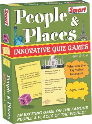 Smart People & Places Board Game