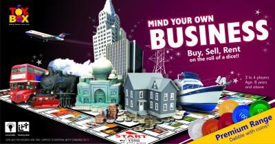 Toysbox Mind Your Own Business - Premium Range Board Game