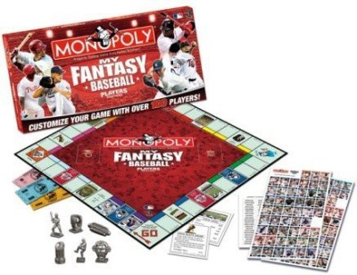 USAopoly My Fantasy Baseball Players Edition Monopoly Board Game