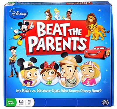 Spin Master Games Disney Beat The Parents Who Knows Disney Best? Board Game