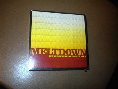 Meltdown The Nuclear Energy Conflict Storeplay Inc Board Game