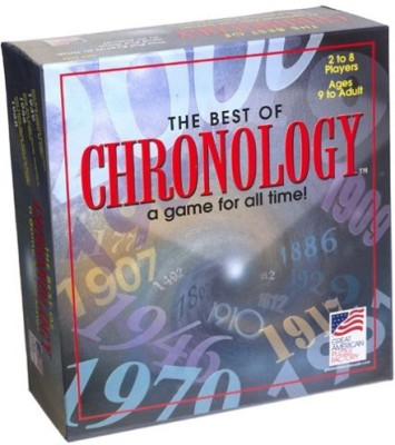 Great American Puzzle Factory The Best Of Chronology Board Game