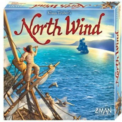 Z-Man Games North Wind Board Game