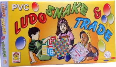 Techno Ludo Snake & Trade (Small) Board Game
