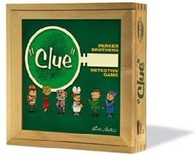 Hasbro Clue Nostalgia Board Game