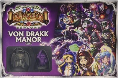 Ninja Division Von Drakk Manor Level Box Spm210304 Board Game