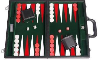 GammonVillage Leatherette Backgammon Set (15