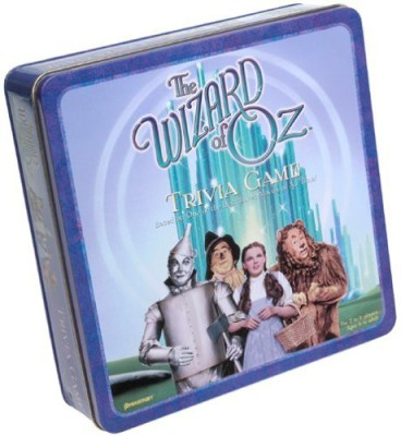 Pressman The Wizard Of Oz Trivia In Collector,S Tin Board Game