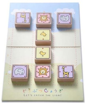 Japanese Chess Doubutsu Shogi (Japan Import) Animal Wooden Board Game