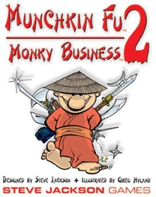 Steve Jackson Games Munchkin Fu 2 Monky Business Board Game