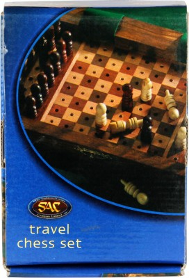 Hamleys Wooden Chess Set Pegged Board Game