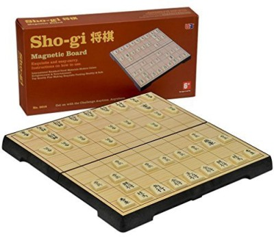 Yellow Mountain Imports Travel Magnetic Shogi Set Board Game
