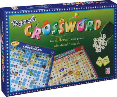 Unique Creations Beginner's CROSSWORD with New FILL in the GAP Board Game