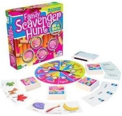 Outset Media Kid,S And Family Party Scavenger Hunt Family Scavenger Board Game