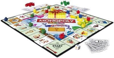 Hasbro Monopoly Junior Party Board Game