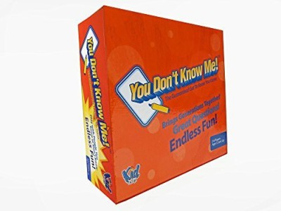 Kid For Life! You Don,T Know Me Get Together Board Game