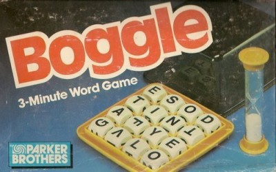 BOGGLE 3 minute Board Game