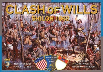 Mayfair Games Clash Of Wills Shiloh 1862 Board Game