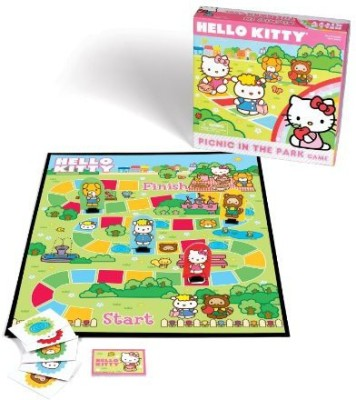 Hello Kitty Picnic In The Park Board Game