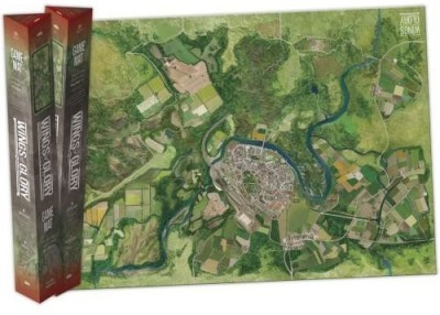Ares Games Wings Of Glory City Mat Board Game