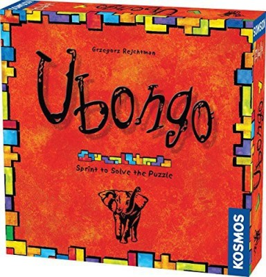 Thames & Kosmos Ubongo Sprint To Solve The Puzzle Board Game
