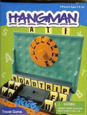 International Playthings Hangman Travel Board Game