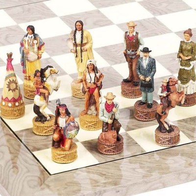 Bello Games New York, Inc. American West Chessmen Board Game