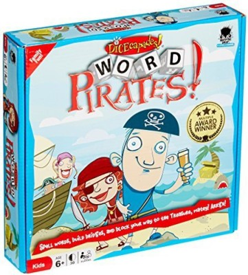 Haywire Group Dicecapades Word Pirates Board Game