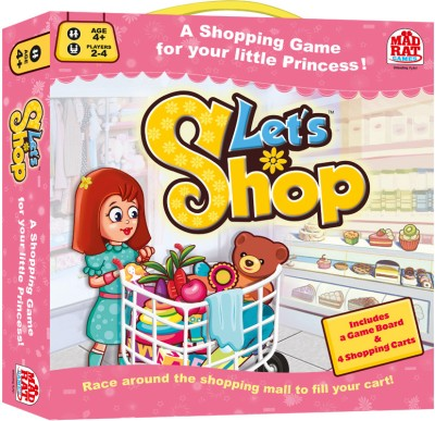 MadRat Games Lets Shop Board Game