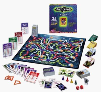 Milton Bradley Animorphs The Invasion Board Game